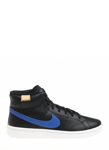 Nike Erkek Siyah Basketbol Ayakkabısı CQ9179 - 002 Court Royale 2 Mid Siyah